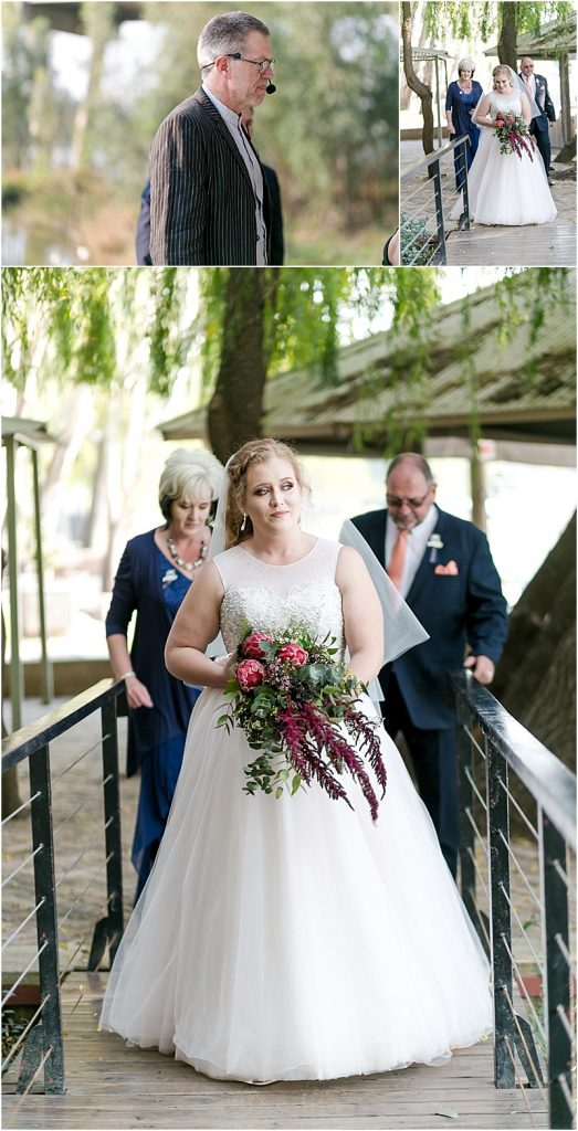 Pont de Val wedding