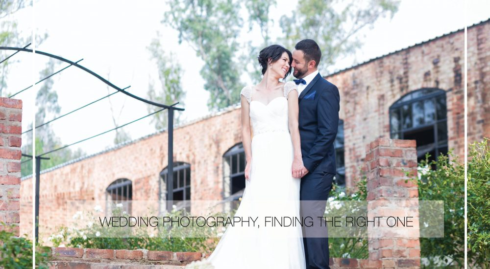 Wedding photography, finding the right one