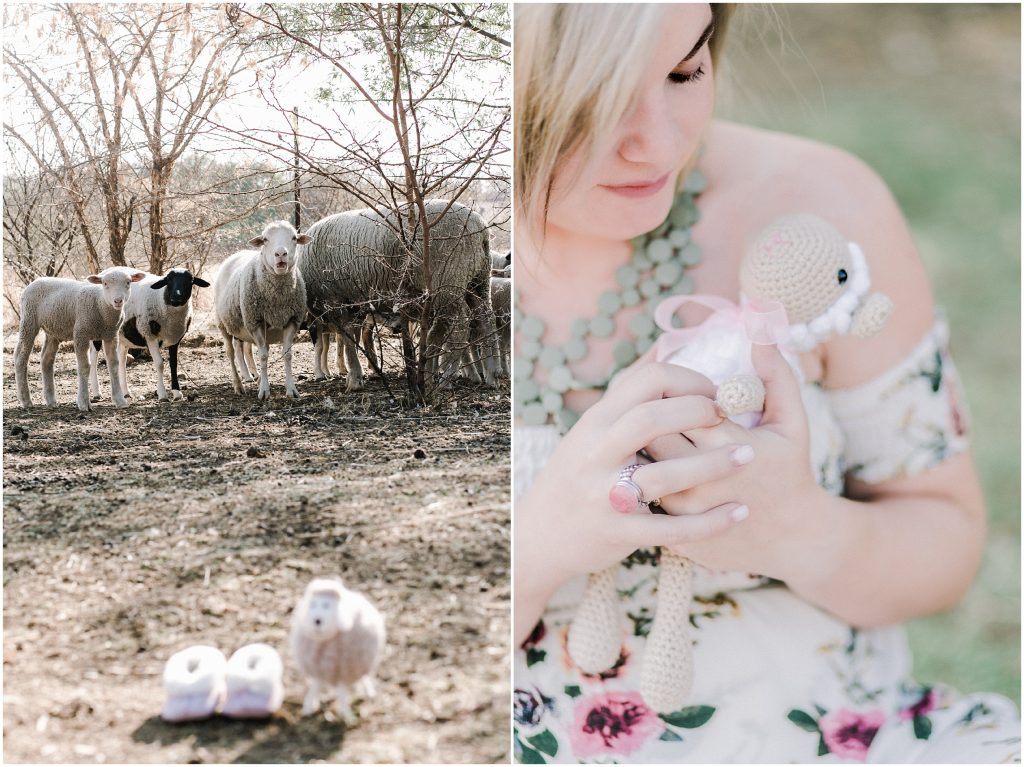 Sheep Inspired Maternity