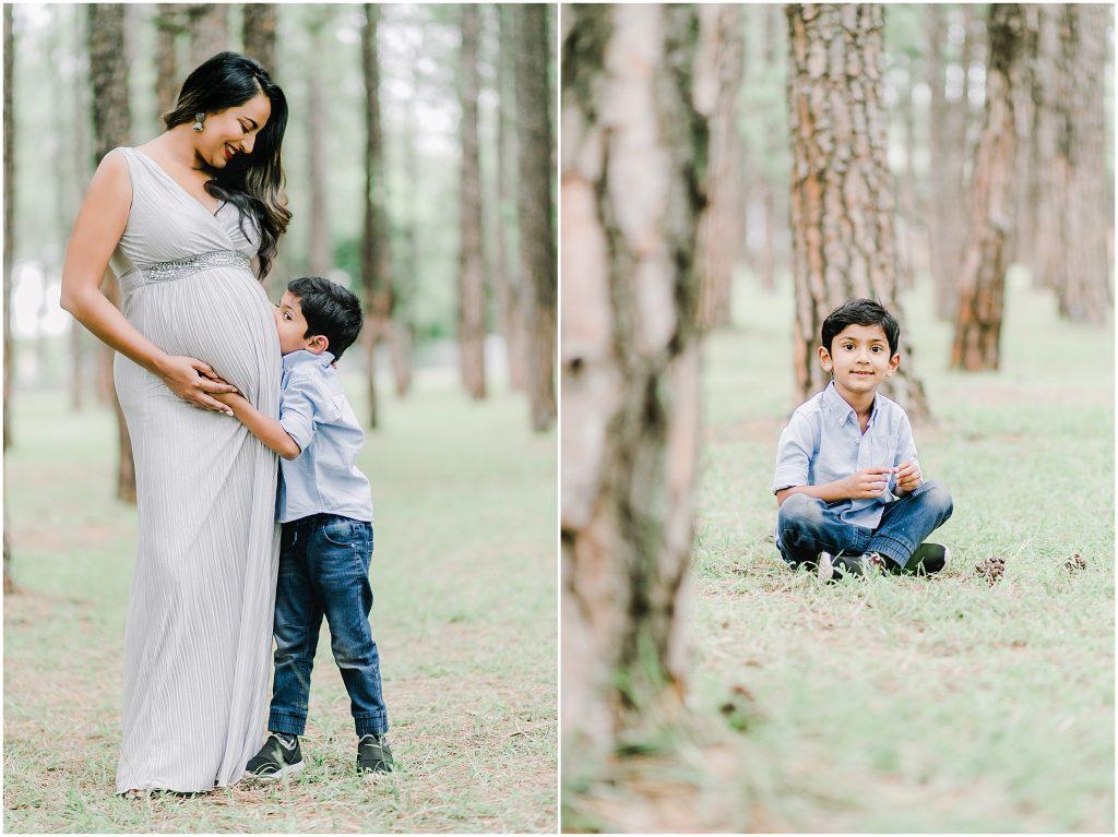 Natural Maternity Shoot